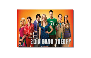 Big Bang Theory 36x24 Wall Posters - 5 Styles to Choose From - $15.50 with FREE Shipping!