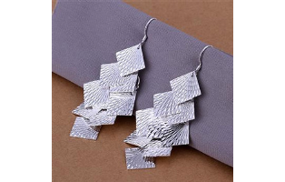 Silver Sands Silver Plated Earrings - $13 with FREE Shipping!