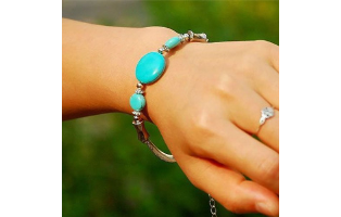 Turquoise Retro Bracelet - $14 with FREE Shipping!