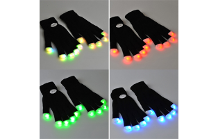 LED Gloves - $14 with FREE Shipping!