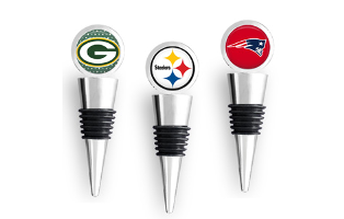NFL Team Inspired Wine Stoppers- $11.50 with Free Shipping
