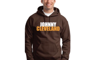 Johnny Manziel- Johnny Cleveland Hoodie - $36 with FREE Shipping!