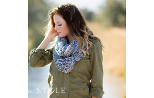 Paisley Infinity Scarf - $11 with FREE Shipping!