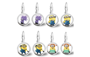 Minion Inspired Earrings- $9.50 with Free Shipping