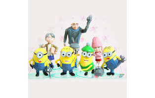 8 Piece Despicable Me Inspired Toy Set - $17 with FREE Shipping!