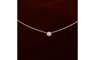 Classic Rose Gold or Platinum Plated Necklace - $13 with FREE Shipping!