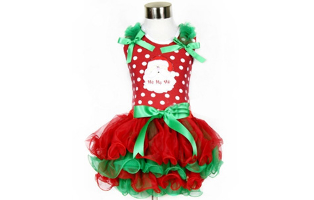 Christmas Theme Dance Dress - $18.50 with FREE Shipping!