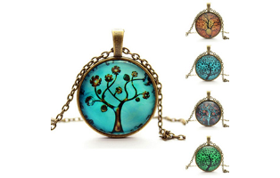 Life Tree Vintage Style Pendant Necklace - $13 with FREE Shipping!