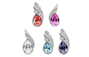 Fashion Austrian Crystal Water Drop Necklace & Earring Jewelry Set - $11 with FREE Shipping!