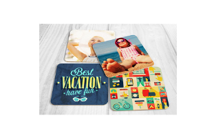 Set of Four Photo Coasters - $8.99!