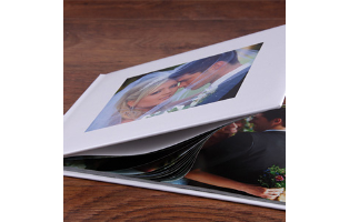 8 x 6 Padded Photo Book - $10.99!