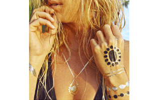 Gold & Silver Metallic Tattoos- $10 with Free Shipping