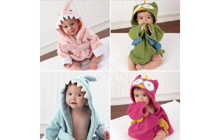 Baby Animal Bathrobe - $20 with FREE Shipping!