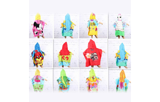 Kid's Cartoon Inspired Hooded Towel - $20 with FREE Shipping!