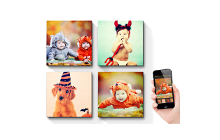 10 x 10 Instagram Canvas - $14.99!